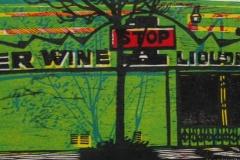 1-Stop woodcut and linocut print 2010